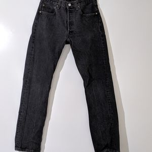 Levi's 501 XX 31x32 Distressed Black 78-81 Jeans